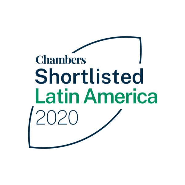 Chambers Shortlisted Latin America 2020
